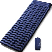 HUI LINGYANG Ultralight Air Sleeping Pad - Best Inflatable Mat for Camping,Backpacking and Traveling-Lightweight & Compact Air Mattress