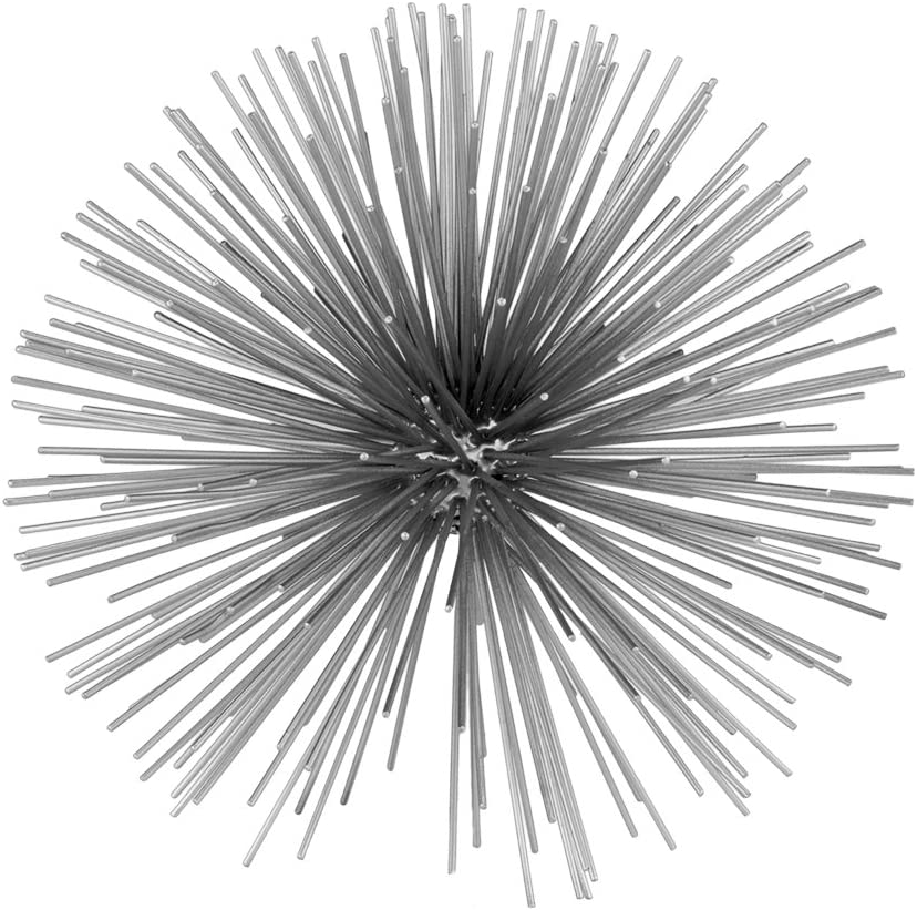 Max 55% OFF Modern Day Accents 5150 Erizo Spiked Silver Sphere Limited time trial price Large