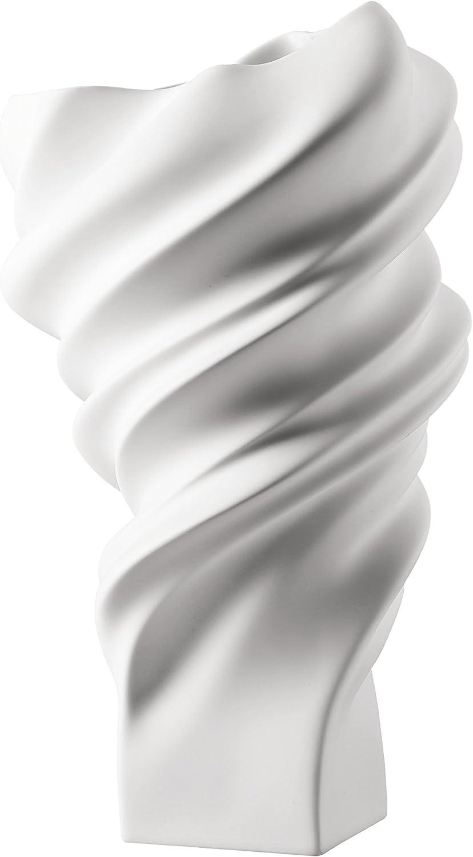 Rosanthal - Vase Blaumenvase Squall - Porzellan - Weiss - matt Höhe 32 cm B01JPFEXIU