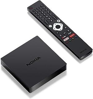 Nokia Android TV Streaming Box 8000, Smart TV Box con Android 10.0 e Chromecast integrato, WiFi, HDMI, connettore USB-C, i...