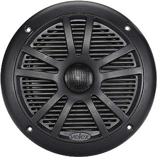 """Velex 6.5"""" Marine Speaker Black Color 1pc"""