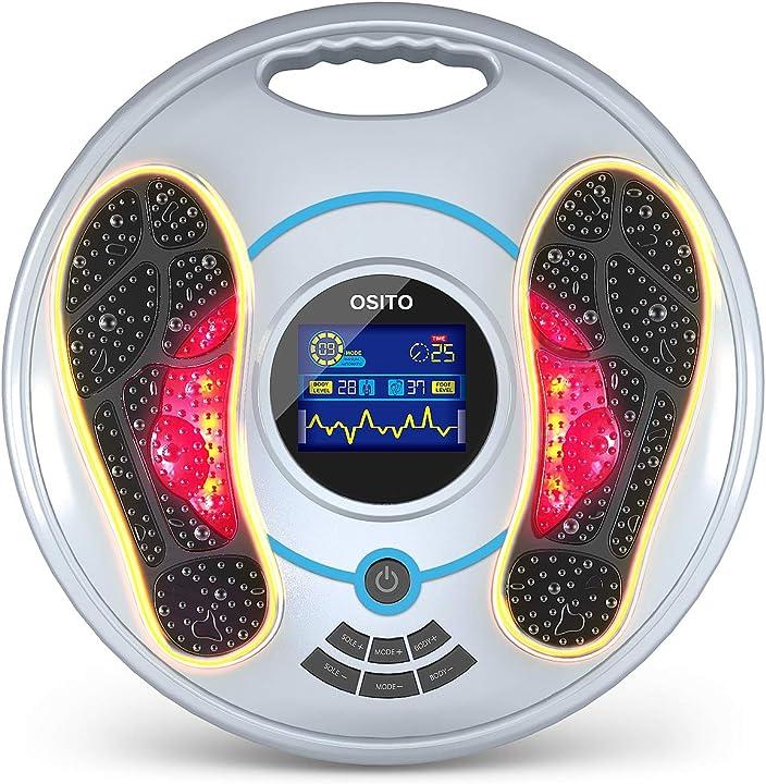 Massaggiatore elettronico per piedi ems - tutto il corpo medico migliora la circolazione - allevia i dolori