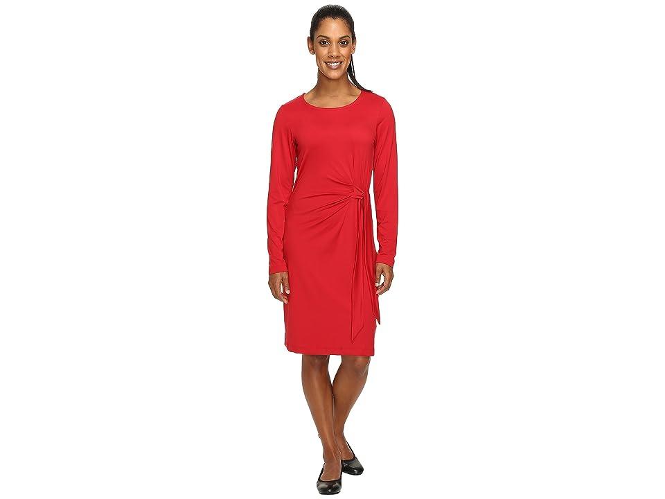 ExOfficio Wanderlux Salama Dress (Carmine) Women
