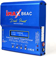 EYESKY iMax B6AC 6A 80W Professional LiPo Charger for RC Battery Balance Charging -Blue