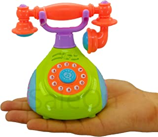 SaleOn Musical Toys Children's Phone Toy Simulation Retro Phone Landline Baby Phone Mobile Musical Toys for Children Singi...