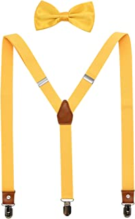 Best yellow bow tie and suspenders Reviews