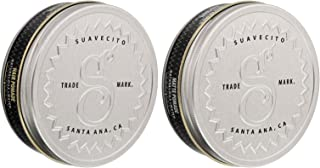 Suavecito Premium Blends Pomade Bundle - Matte and Original All Natural Hair Pomade for Men 4 ounce. each (2 Pack).