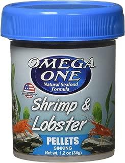 OMEGA One Shrimp & Lobster Pellet, 1.2oz, Yellow