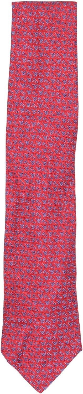 Charvet Men's Iridescent Shark Tooth Rows Silk Necktie