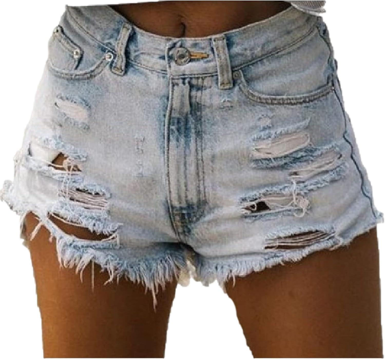 Corumly Women's Denim Limited time cheap sale Shorts European 100% quality warranty and Fashion High American