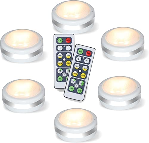 Puck Lights With Remote, Starxing Wireless Led Puck Lights Battery Operated, Led Puck Lights With Remote Control, Led...