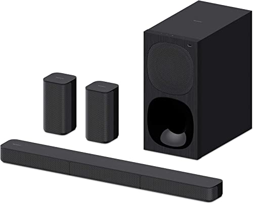 Sony HT-S20R 5.1 Channel Dolby Digital Soundbar Home Theatre System with Bluetooth Connectivity - Black