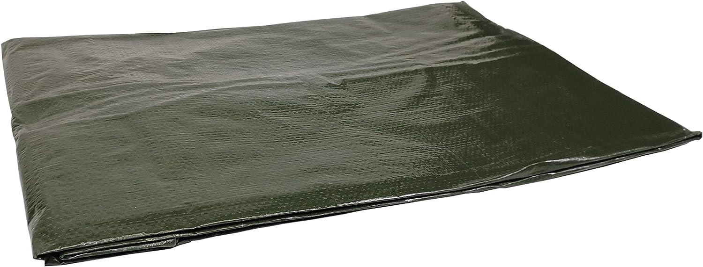 v/éhicules B/âche renforc/ée imperm/éable Vert 120 g, 3 x 4 m - Pour bois et objets de jardin avec /œillets en acier inoxydable protection contre les UV