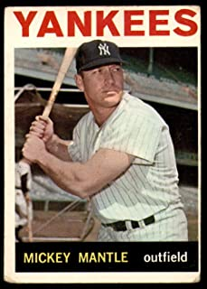 1964 Topps #50 Mickey Mantle G-VG Yankees