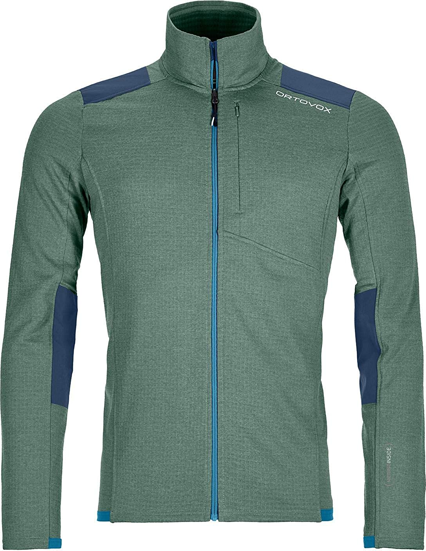 Bombing new work Ortovox Merino Fleece Light - Jacket Grid Men's Import