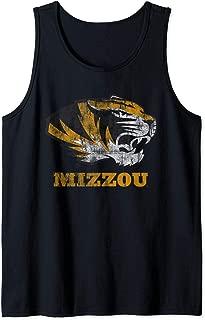 University of Missouri Tigers Mizzou NCAA 01MOD2 Tank Top