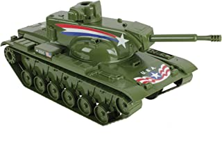 Tim Mee Dominator Big Tank for Action Figures - 60cm Olive Green - Made in USA
