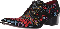 Sylvian Psychedelic Muse Embroidered Gibson Shoe