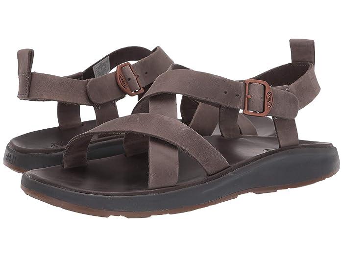 Chaco  Wayfarer (Gray) Mens Sandals