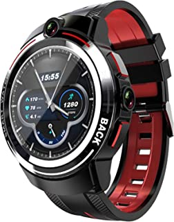 APPLLP 3 Android Smart Horloge Heren 1.39 inch Ronde Amoled Screen WiFi 4G Smart Watch Dames Dual Camera Call Afneembare riem