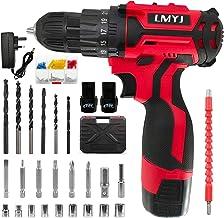 LMYJ-Akku-Bohrschrauber, 18-V-Kombibohrer, 31-teiliger elektrischer Schraubendrehersatz, wiederaufladbarer 35-Nm-Starter-K...
