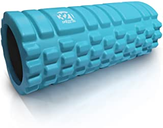 321 STRONG Foam Roller - Medium Density Deep Tissue Massager for Muscle Massage and Myofascial Trigger Point Release, with...