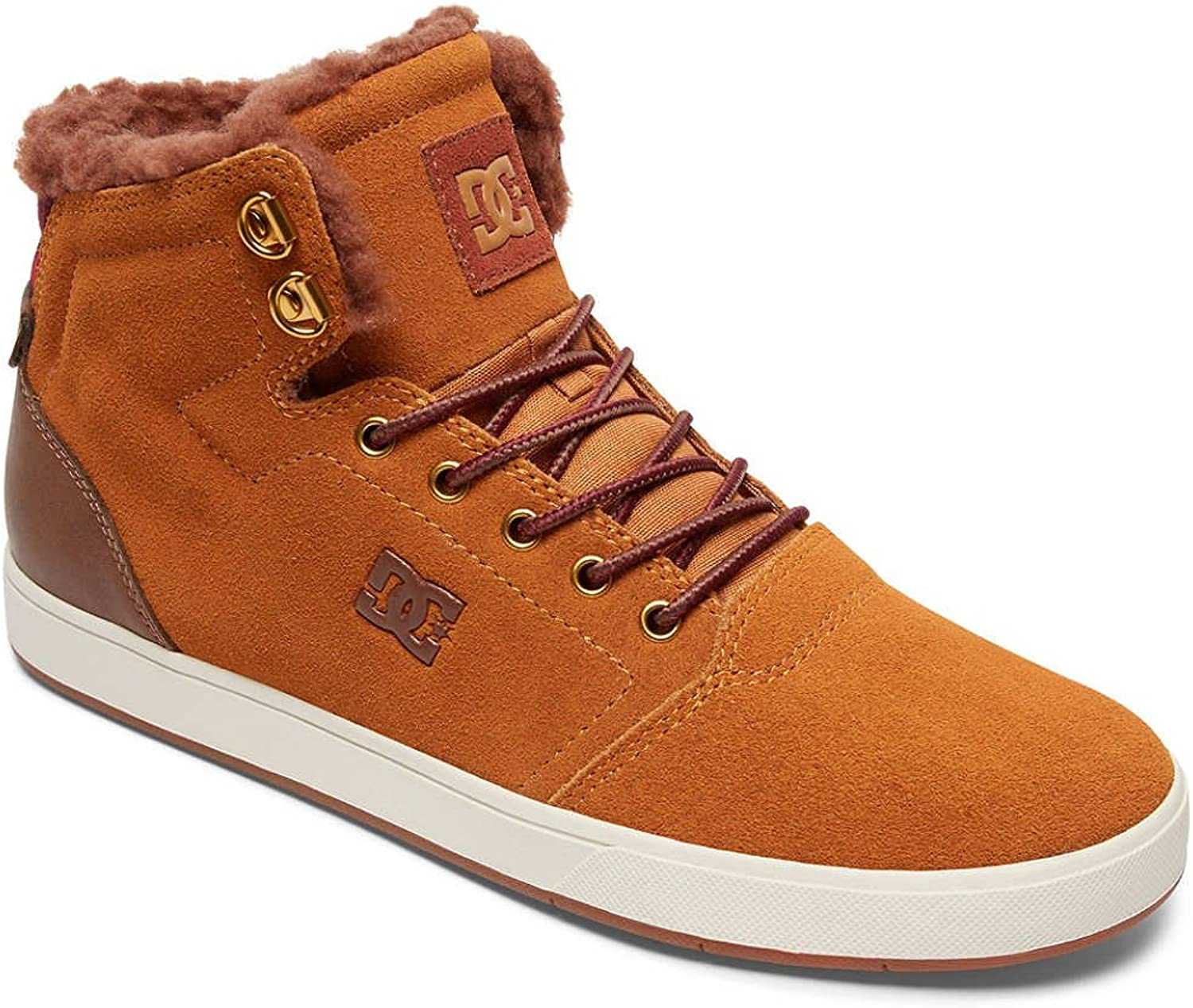 DC shoes Crisis Trainers in Wheat