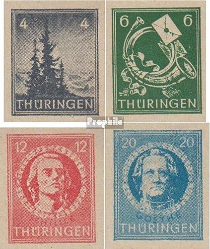 punto de venta Prophila Collection soviética Zona (aliada.ocupación.) 103t-106t 103t-106t 103t-106t (Completa.edición.) 1945 Navidad (Sellos para los coleccionistas)  selección larga