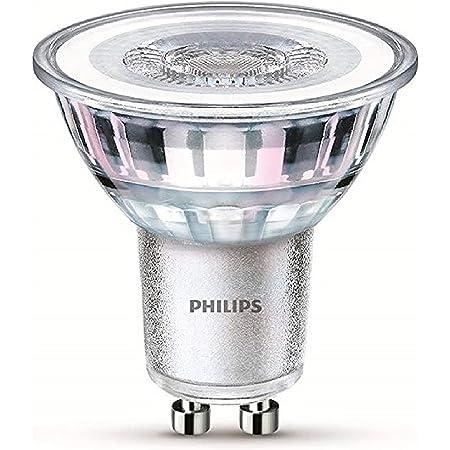 Philips ampoule LED Spot GU10 35W Blanc Froid, Verre