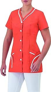 GIBLORS Art.9M1920 Casacca Donna Sanitaria con Bottoni Automatici E Due Tasche