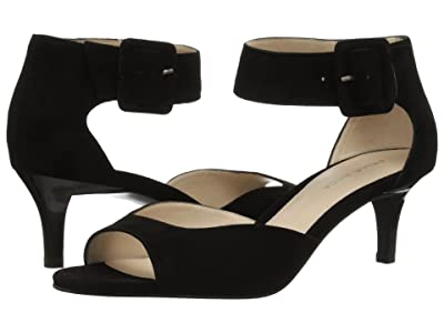 Pelle Moda Berlin (Black Suede) High Heels