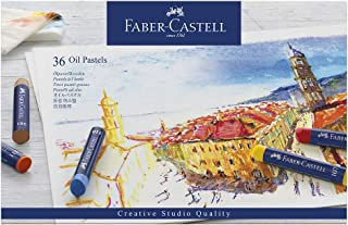 comprar comparacion Faber-Castell 127036 - Estuche de cartón con 36 pasteles de aceite, multicolor