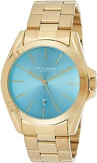 Akribos Xxiv Women's Analogue Japanese-Quartz Watch With Stainless-Steel Strap Ak948Ygtq