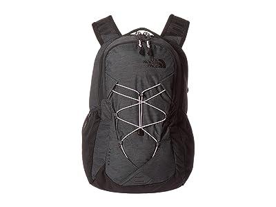 The North Face Jester Backpack (Asphalt Grey Light Heather/Ashen Purple) Backpack Bags