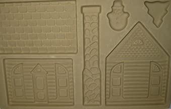 Pampered Chef Stoneware Gingerbread House Kit