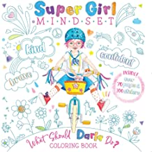 Super Girl Mindset Coloring Book: What Should Darla Do? (The Power to Choose)