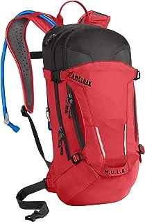 M.U.L.E. Paquete de hidratación para bicicleta de montaña, mochila de hidratación de fácil relleno, trampa magnética para tubo de 100 onzas