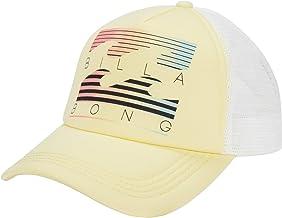 Billabong Women's Across Waves Adjustable Trucker Hat with Mesh Back Panel