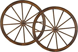 Best decorative wooden wagon wheels for sale Reviews