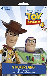 Trends International Toy Story Stickerland Pad - 4 Pages, Multi