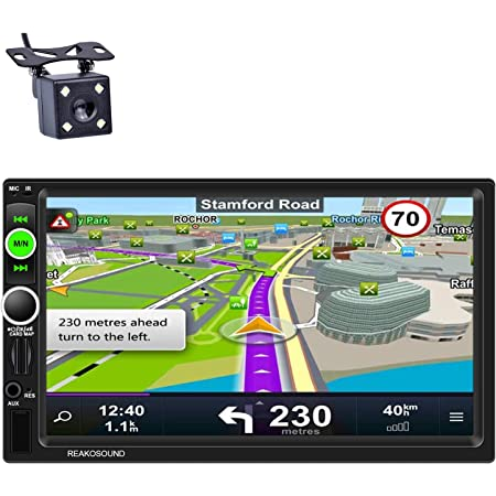 Autoradio Doppel Din Radio Gps Navigation 7 Zoll 1 16g Elektronik
