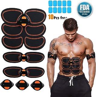 Abs Stimulator, Muscle Toner - Abs Stimulating Belt- Abdominal Toner- Training Device for