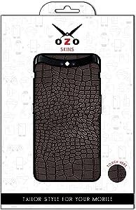 لاصقه حمايه من اوزو بشكل جلد الثعبان الاسود لموبايل Apple Iphone Xr