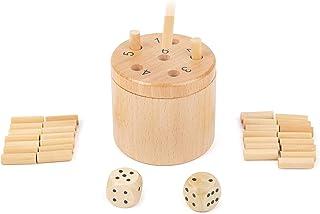 Small Foot Company-11365 Dados 6 lógica para Jugar de 2-6 Personas, Juego Social para Toda la Familia, 39 Piezas Juguetes, Multicolor (11365)