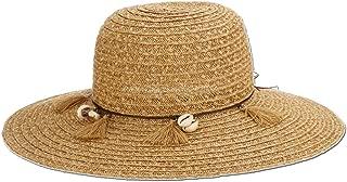 Panama Jack Women's Sun Hat - Lightweight Paper Braid, Packable, 4 1/4