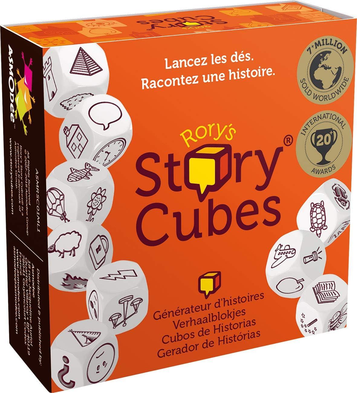 Los míticos cubos para crear historias