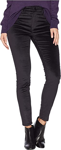 Barbara High-Waist Skinny Jeans in Granite