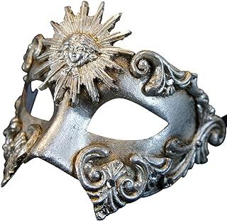 Magic of Venezia Venetian Eye Mask Colombina Sole for Men and Women