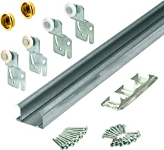Slide-Co 161791 Bi-Pass Closet Track Kit (2 Door Hardware Pack), 48