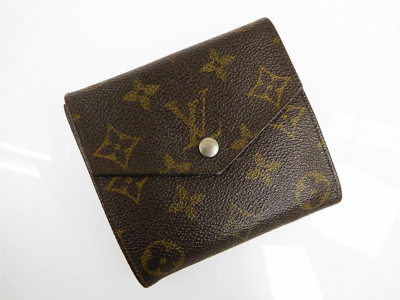 治世囲まれた親密な[ルイヴィトン] LOUIS VUITTON 二つ折り財布 モノグラム PVC×レザー X11620 中古